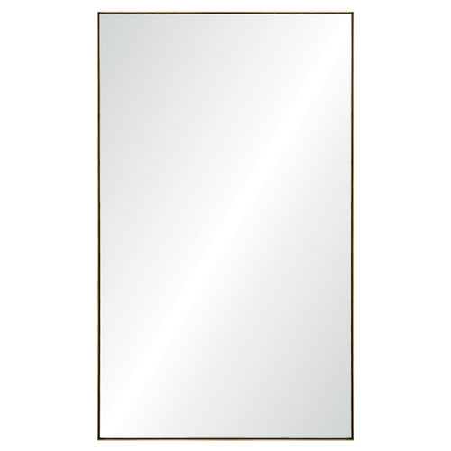 Mirror Image Home Burnished Brass Rectangular Mirror