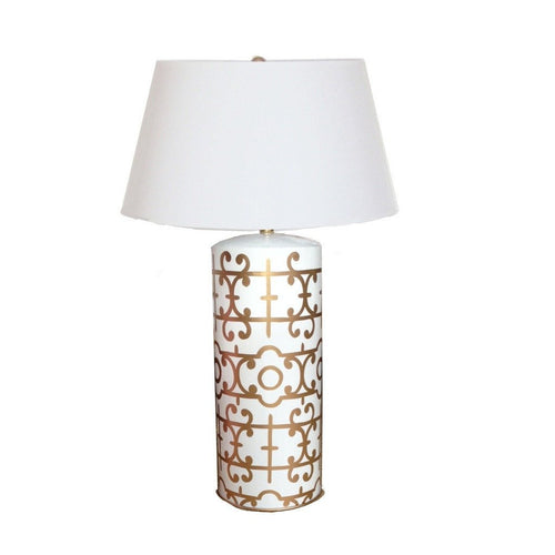 Klimt Table Lamp in Gold by Dana Gibson