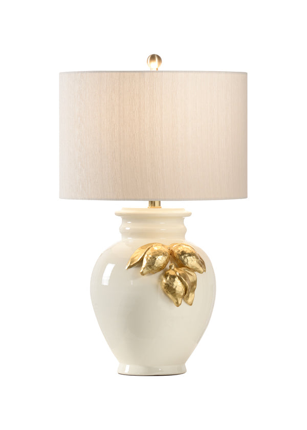 Wildwood - Gold Leaf Lemon Lamp