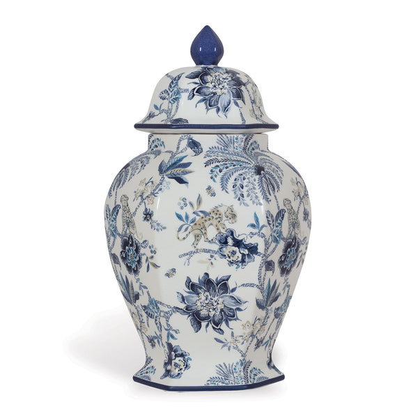 Williamsburg Braganza Blue Jar