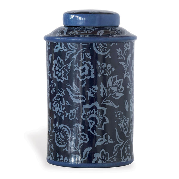 Port 68 Rokeby Road Blue Jar