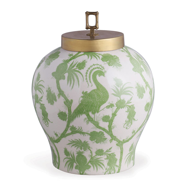 Scalamandre for Port 68 Balinese Peacock Jar