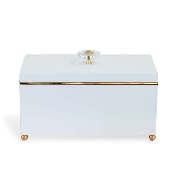 "Port 68 15"" Naples Box in White"