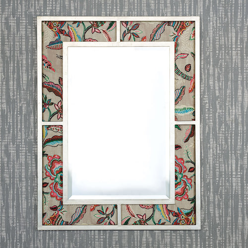 Port 68 Bedford Gold Mirror With Sloane Fabric