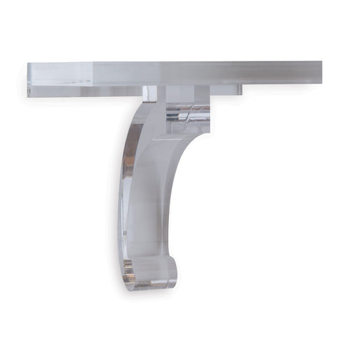 Glencoe Lucite Wall Shelf by Port 68
