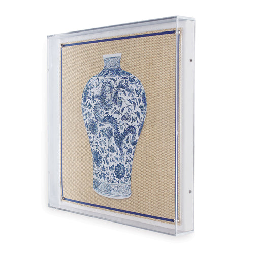 Ming Art II in Lucite Frame by Port 68
