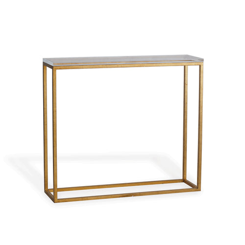 Port 68 Drake Console Table- Gold