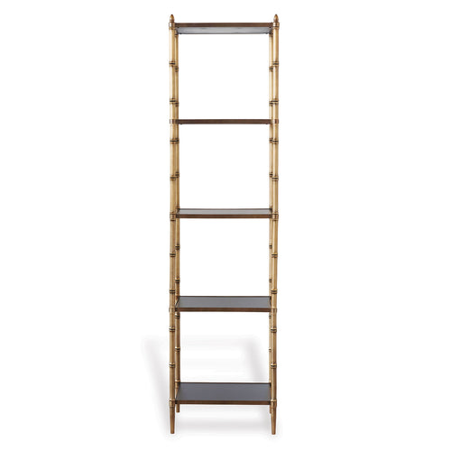 Port 68 Doheny Etagere Shelf in Brass