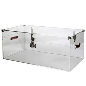 Jamie Dietrich Bella Trunk Acrylic with Leather Handles
