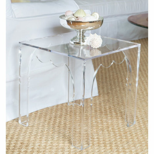 Jamie Dietrich Ori Side Acrylic Table