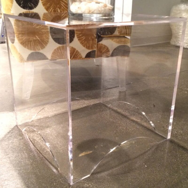 Jamie Dietrich Arched Cube End Table