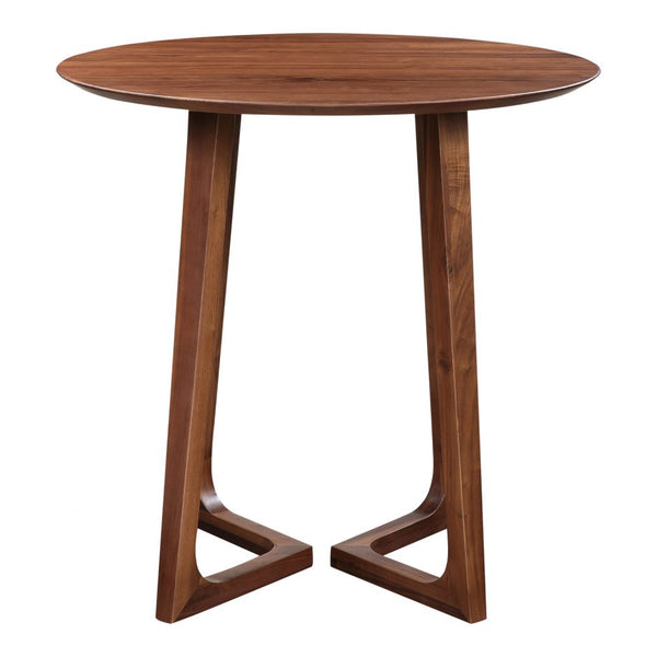 Moes Godenza Bar Table Walnut