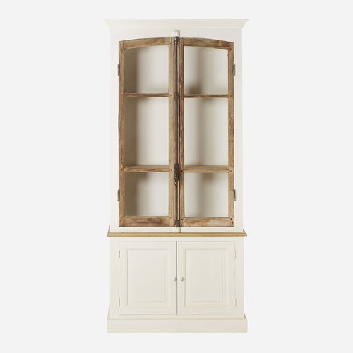 Bobo Intriguing Objects Two Door, French Antique Bakery Cabinet
