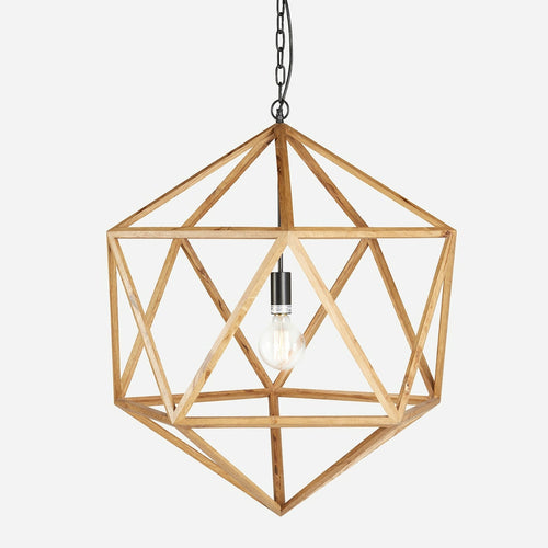 BoBo Intriguing Objects Wooden Geometric Chandelier