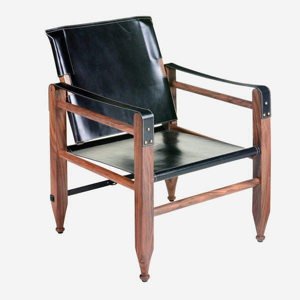 Bobo Intriguing Leather Campaign Chair