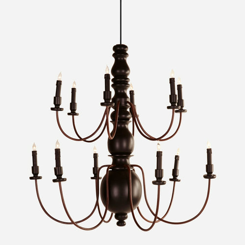 BoBo Intriguing Objects 2 Tier Pillar Chandelier