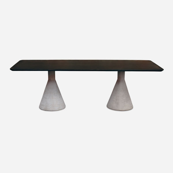 BoBo Intriguing Objects Conical Dining Table, Willy Guhl Inspired