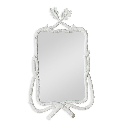 Mr Brown London Barnabus Mirror in Hepworth White