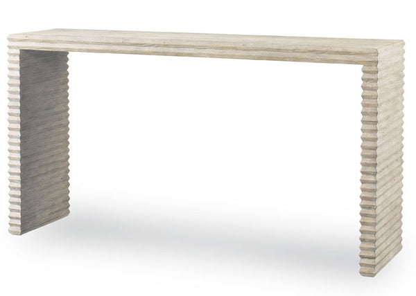 Mr. Brown Belmont Console - White Rustic Pine