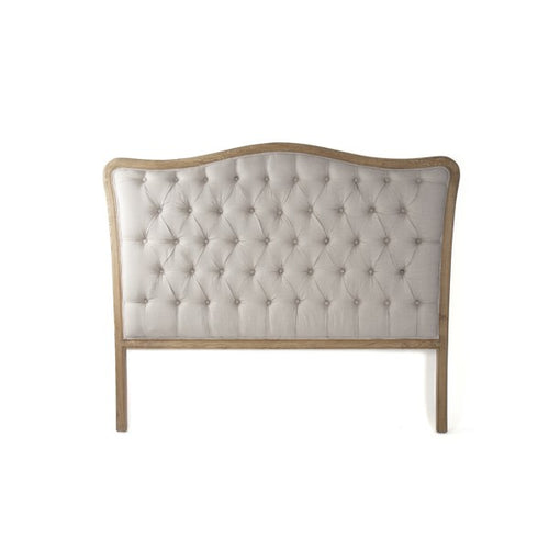 Zentique Maison Tufted Headboard Queen