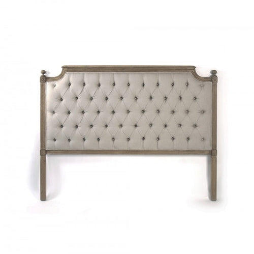 Zentique Louis Tufted Headboard Queen