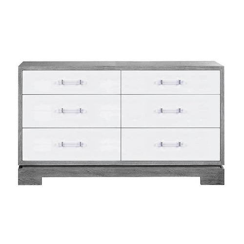 Worlds Away Crawford Dresser With Acrylic Hardware