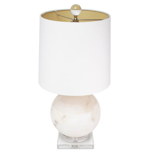Meridian White Table Lamp by Couture