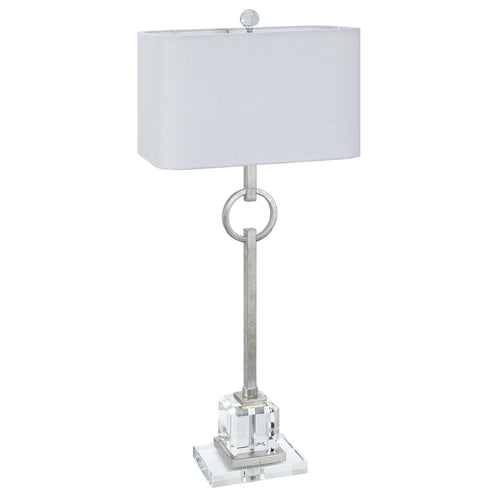 Couture Lighting Elaina Table Lamp - Silver