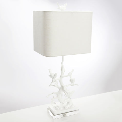 Bird on Branch Table Lamp by Couture Lighting