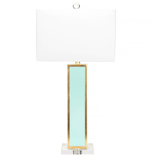 Couture Lighting  Blair Table Lamp - Mint