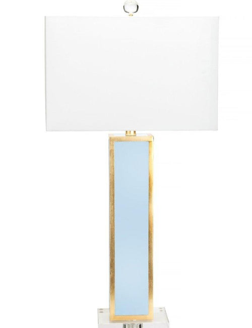 Couture Lighting Blair Table Lamp - Light Blue