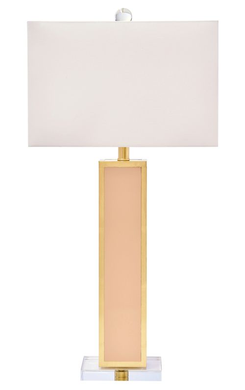 Couture Lighting Blair Lamp - Blush Pink