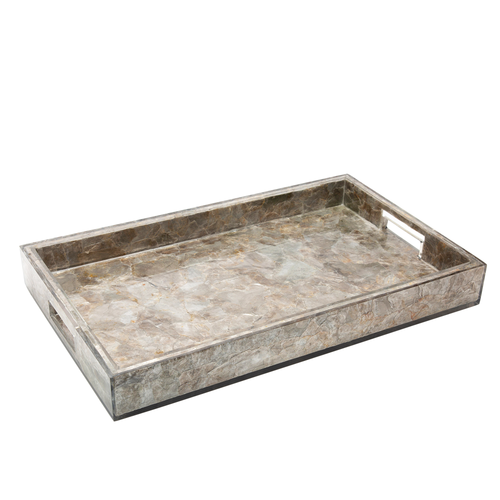 Emerson Tray with Handles by Couture Lighting
