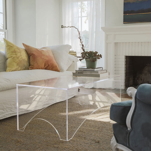 Jamie Dietrich Designs Arched Coffee Table