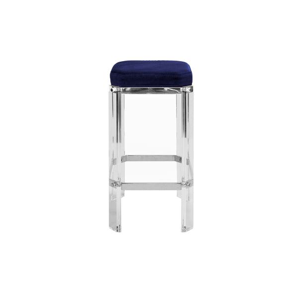 Worlds Away Dorsey Acrylic Counter Stool
