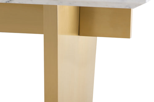 Nuevo Aiden White Dining Table