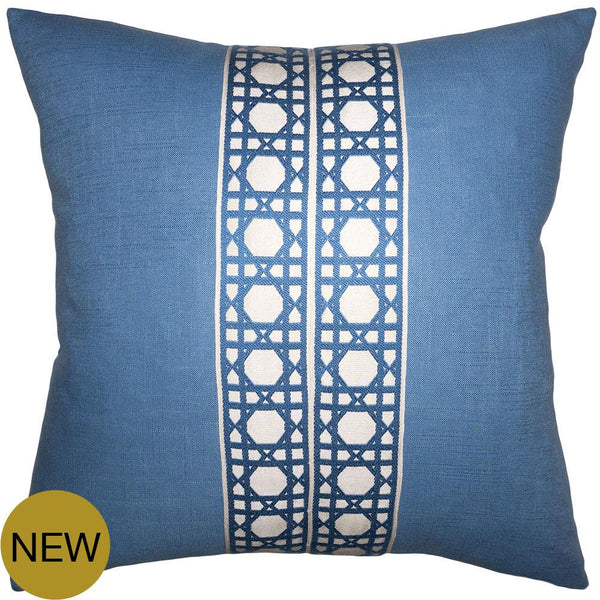 Hearst Chambray Pillow by Square Feathers