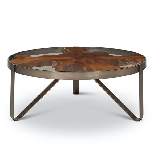 Kullen Teak Coffee Table by Urbia