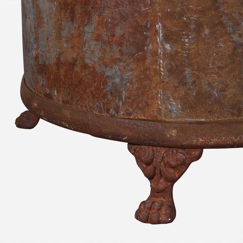 BoBo Intriguing Objects French Iron Clawfoot Planter