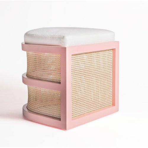 Isabella Accent Stool by Maggie Cruz Home