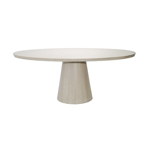 Worlds Away Jefferson Oval Dining Table