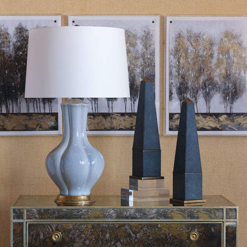 Southhampton Lamp in Creme by Port 68