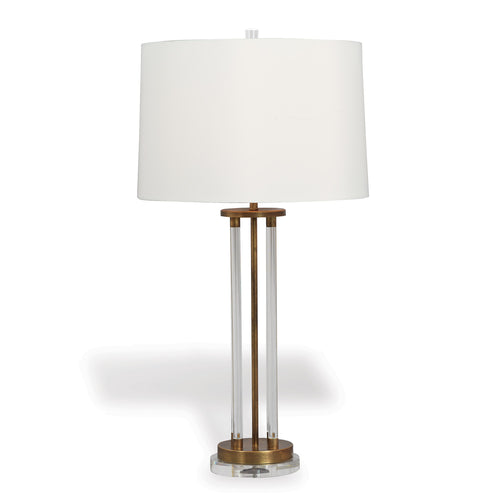 Port 68 Moderne Brass Lamp