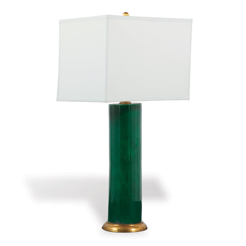Melrose Lamp by Port 68 in Emerald Green
