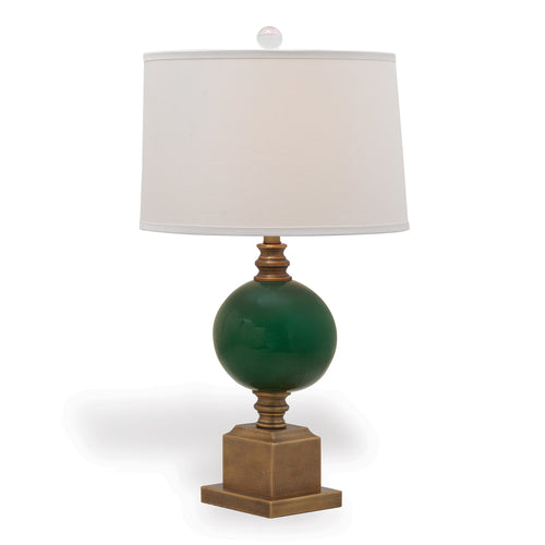 Port 68 Rutherford Table Lamp, Emerald Green
