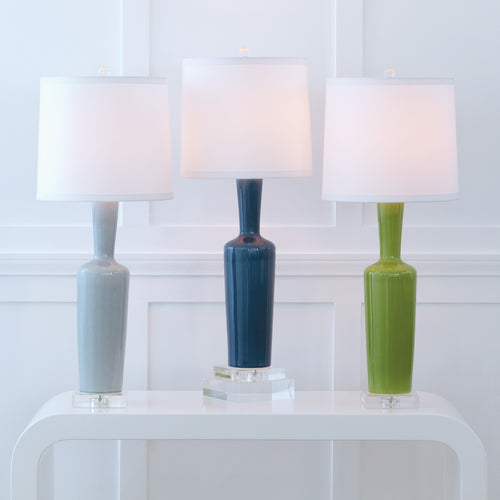 Brentwood Lamp by Port 68 in Blue