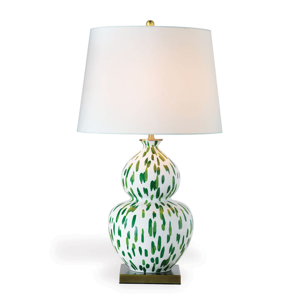 Port 68 Mill Reef Table Lamp in Green