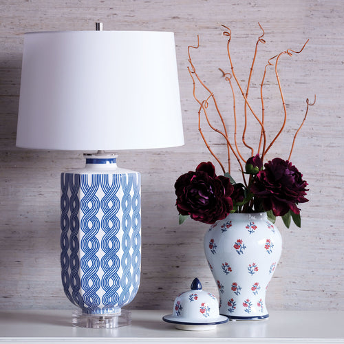 Evelyn Blue Lamp by Port 68