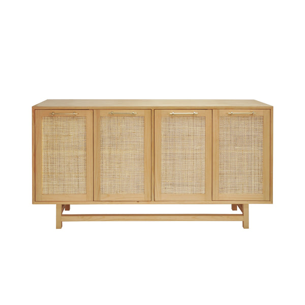 Worlds Away Macon Cabinet or Sideboard in Pine