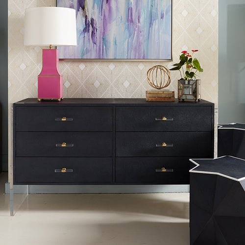 Worlds Away Rutherford Dresser in White